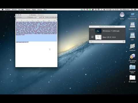 FreeHand MX running under OS X 10.8 (Parallels Desktop 8 / OS X 10.6) / Part 2