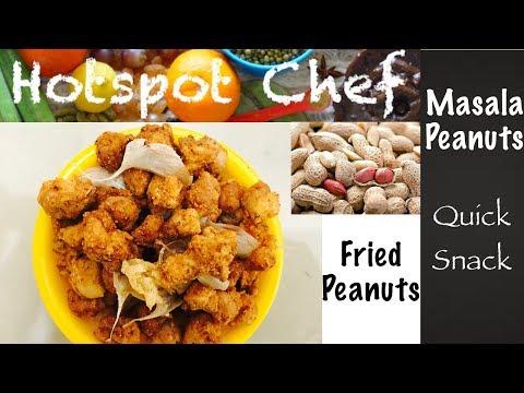 MASALA PEANUTS / மசாலா வேர்கடலை | How to prepare Masala Peanut