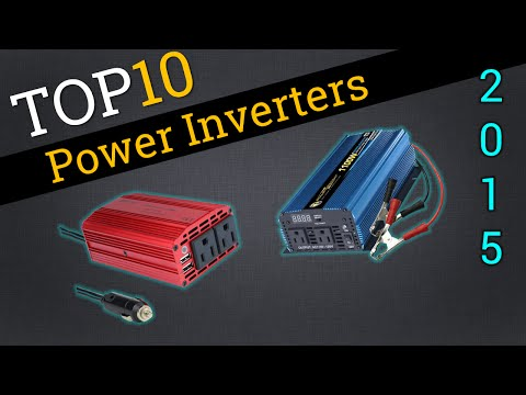 Top 10 Power Inverters 2015 | Best 12V Inverter Review