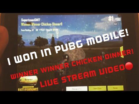 PUBG Mobile Live Stream WINNER WINNER CHICKEN DINNER!