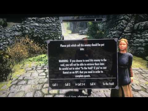 Skyrim, finally a way to deal with kids and anyone else