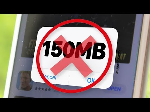 Bypass 150MB App Store Cellular Download Limit - NO JAILBREAK (iOS 11.4!!)
