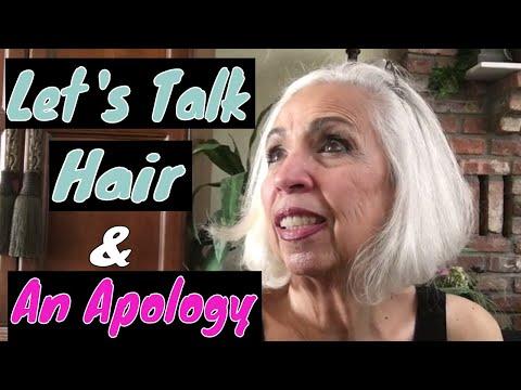 Let's Talk Hair - And An Apology