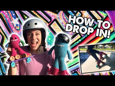 HOW TO DROP IN ON ROLLER SKATES - Planet Roller Skate Ep. 25