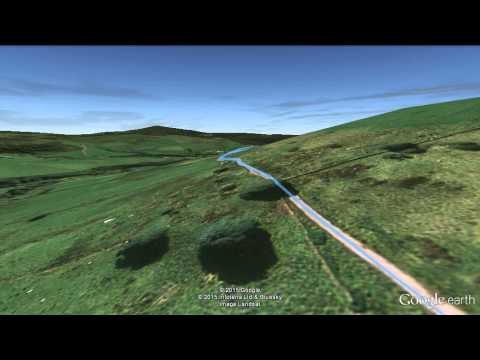 Macclesfield Forest Classic - Route Fly-over (google earth pro)
