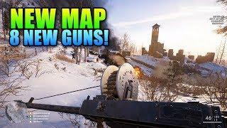 Battlefield 1 Brusilov Keep Map + 8 New Guns!