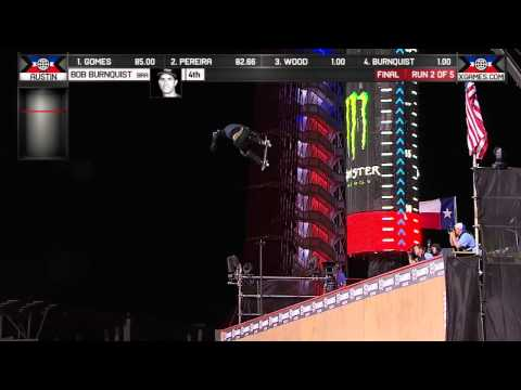 Burnquist Wins Skateboard Big Air Silver