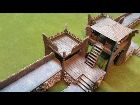 OHA George - 2017 Middle Earth Terrain compilation