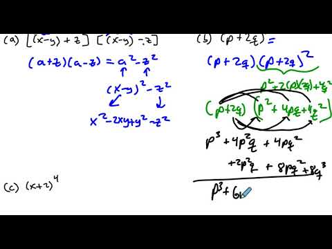 4.4 Example 7 Multiplying More Complicated Binomials
