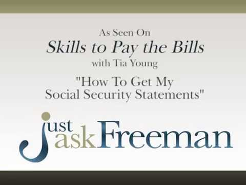 How To Get My Social Security Statements