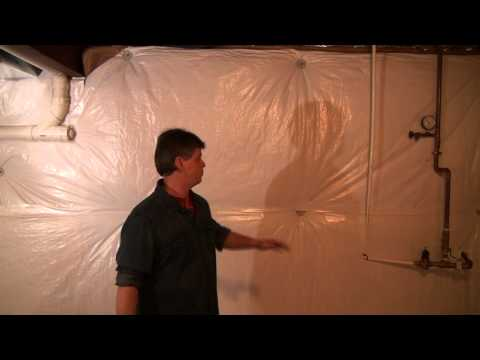 Basement Concrete Wall Insulation Wrap