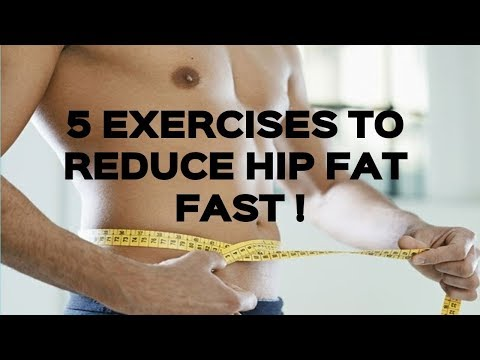 How To Get Rid Of Hip Fat Fast : 5 Best Exercises For Reduce Hip Fat (Men & Women) - Fitness Tips