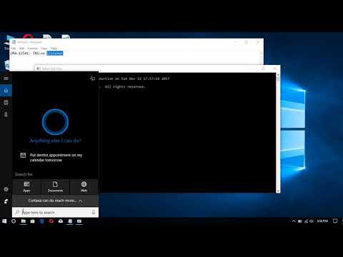 Oracle Listener how to handle error message ORA 12541 TNS no listener