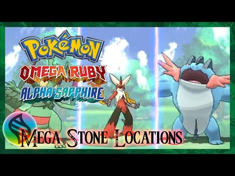 Pokemon Omega Ruby and Alpha Sapphire: Where to Find Every Mega Stone