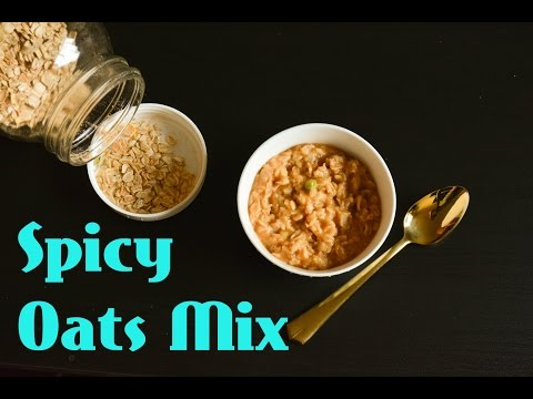 Quick n' Easy Spicy Masala Oats Mix Recipe