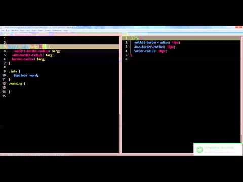 SASS SIMPLIFIED VIDEO 2 - Advanced Mixins