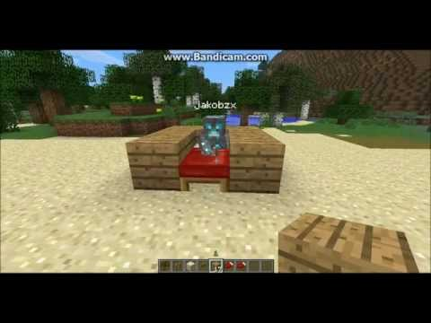 Minecraft: How to sit in the bed