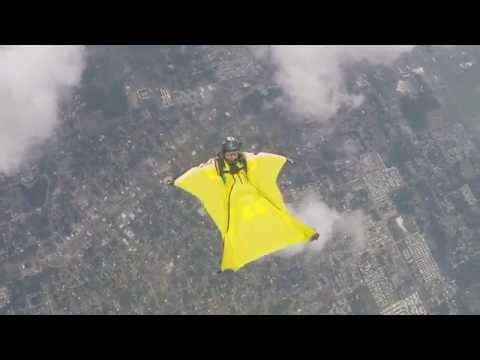 Learning how to back fly my wingsuit