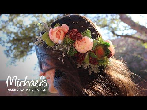 Succulent Flower Crown | Michaels