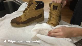 How To Cleanmaintenance Timberlands