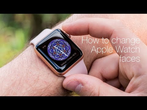 How to change Apple Watch faces