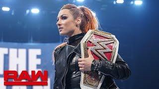 Becky Lynch accepts Sasha Banks' challenge for a Raw Women's Title Match: Raw, Sept. 2, 2019