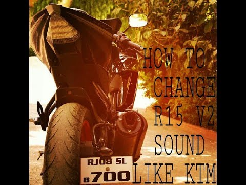 How to Change r15 sound and increase performance without change exhaust