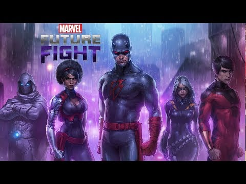 Marvel Future Fight Part 65 - Shadowlands Live Stream of Noobness