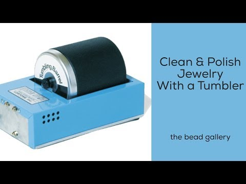 How to Use a Tumbler to Clean and Polish Jewelry at the Bead Gallery