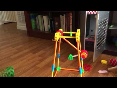 Tinker toy double pendulum