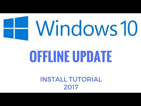 How to download and install windows 10 offline update 2017