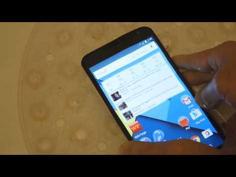 Nexus 6 - Water Test / Dunking / Submerging - Nano Coating