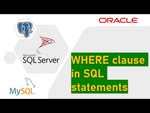 WHERE clause in SQL Server