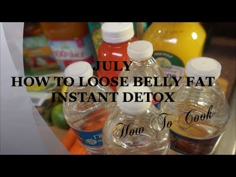 HOW TO LOOSE BELLY FAT 24 HOUR'S DETOX RECIPE 2017