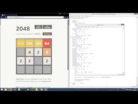2048 Bot Game