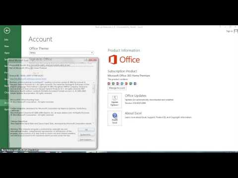 How Do I Tell What Version of Office Is in an Excel File? : Microsoft Office Help