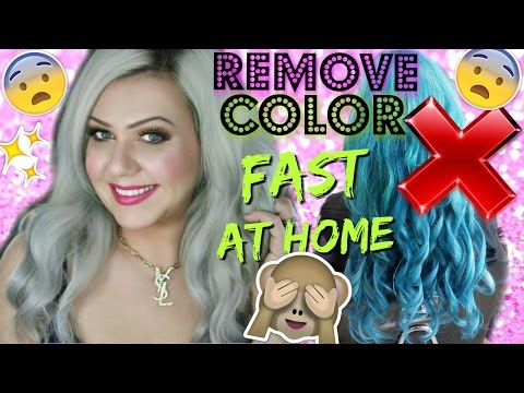 REMOVE ANY COLOR FROM HAIR - NO BLEACH!! - STEP BY STEP TUTORIAL
