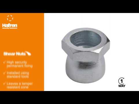 Introducing Security Shear Nuts