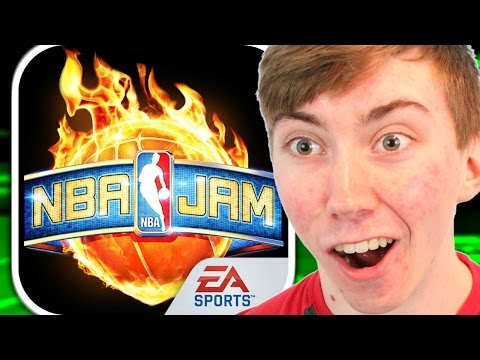 NBA JAM by EA SPORTS (iPhone Gameplay Video)