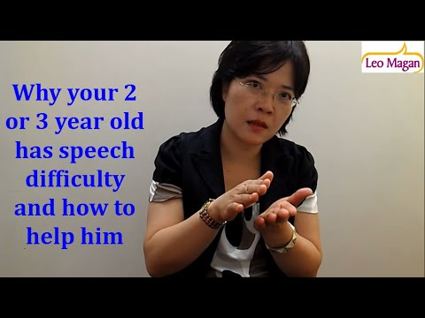 Why your 2 or 3 year old has speech difficulty and how to help him