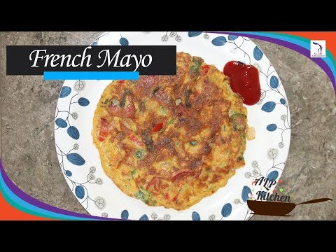 French Mayo Omelette with an Indian Twist - Easy cooking