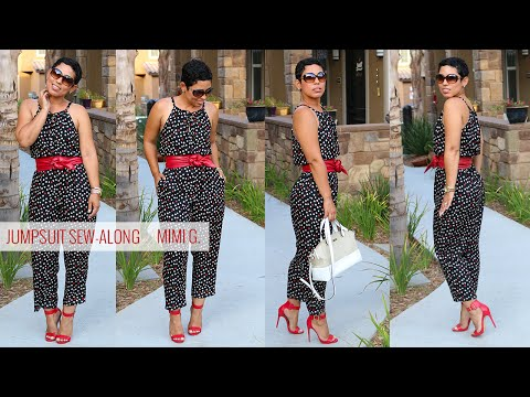 Simplicity Jumpsuit Sew-Along w/ Mimi G