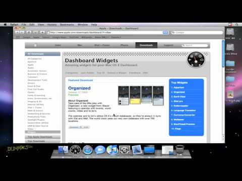 How to Download Dashboard Widgets For Dummies