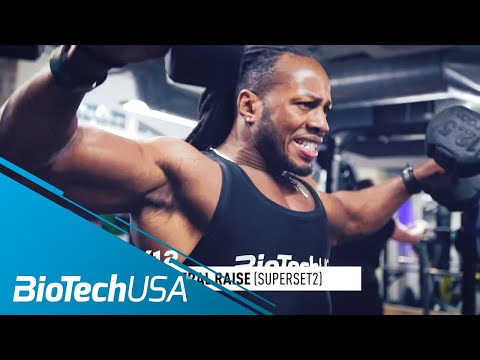 Shoulders Workout / Raise Variations - Daily Routione with Ulisses - BioTechUSA