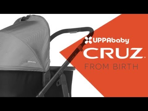 UPPAbaby CRUZ Stroller - From Birth - International
