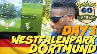 It took almost all day, But SHINNIES GALORE!!! DAY 1 POKEMON GO SAFARI ZONE DORTMUND HIGHLIGHTS