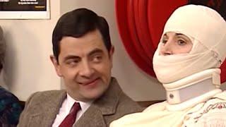 Mr Bean Frohe Weihnachten.Mr Bean Fahrt Auf Dem Autodach