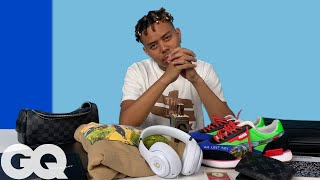 10 Things YBN Cordae Can't Live Without   GQ