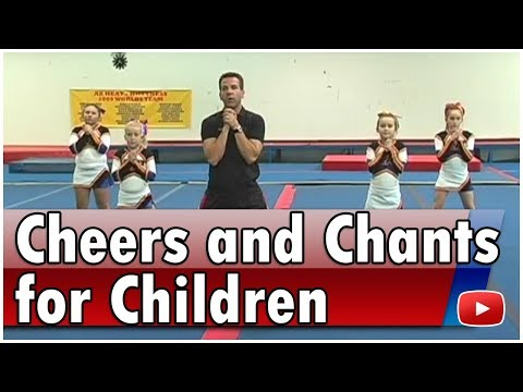 Cheerleading for Children - Cheers and Chants - Coach Jason Mitchell