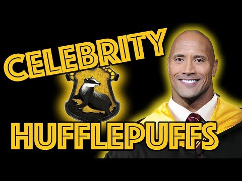 Hufflepuff Celebrities Sorted by Pottermore!